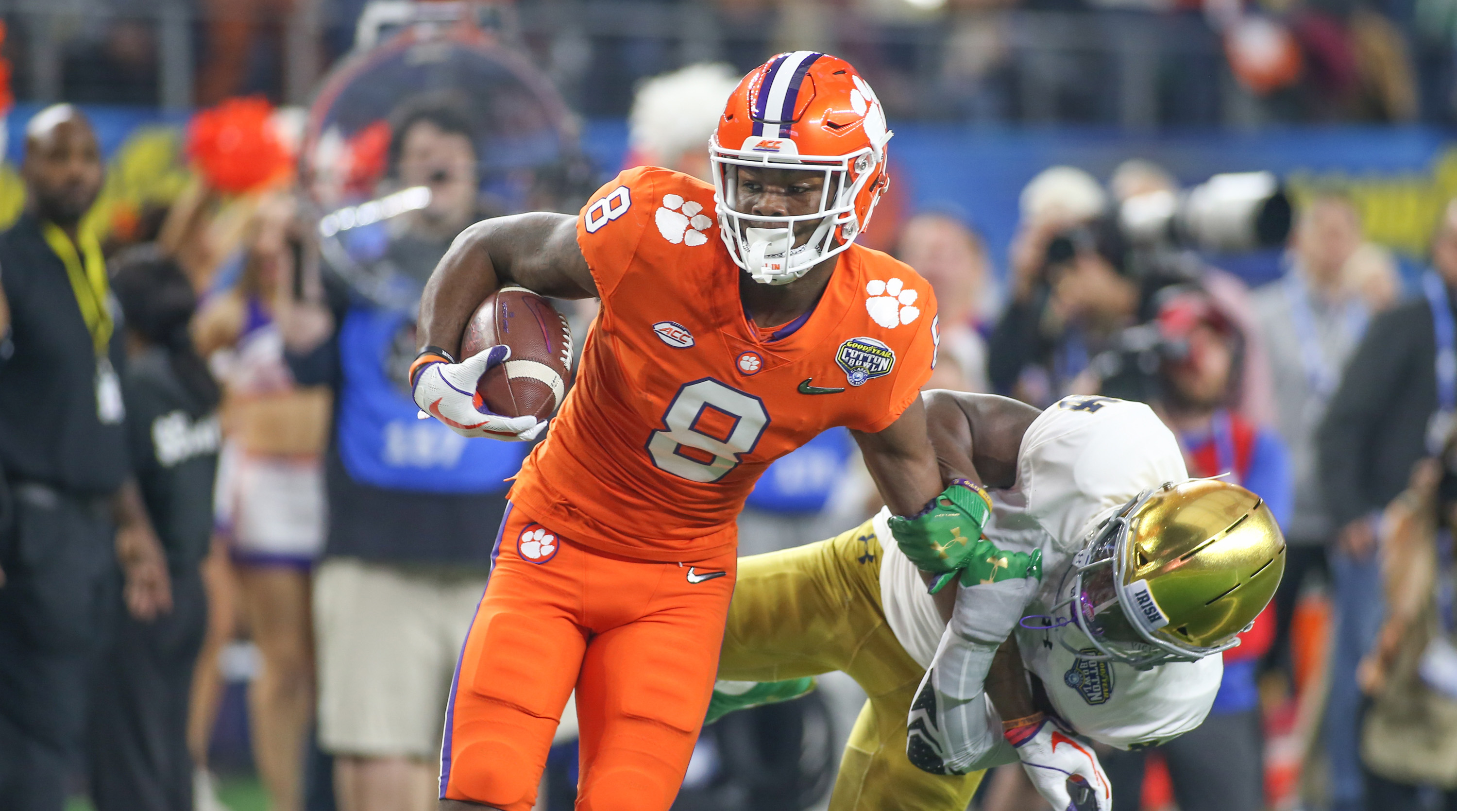 COLLEGE FOOTBALL: DEC 29 CFP Semifinal at the Cotton Bowl Classic – Clemson v Notre Dame