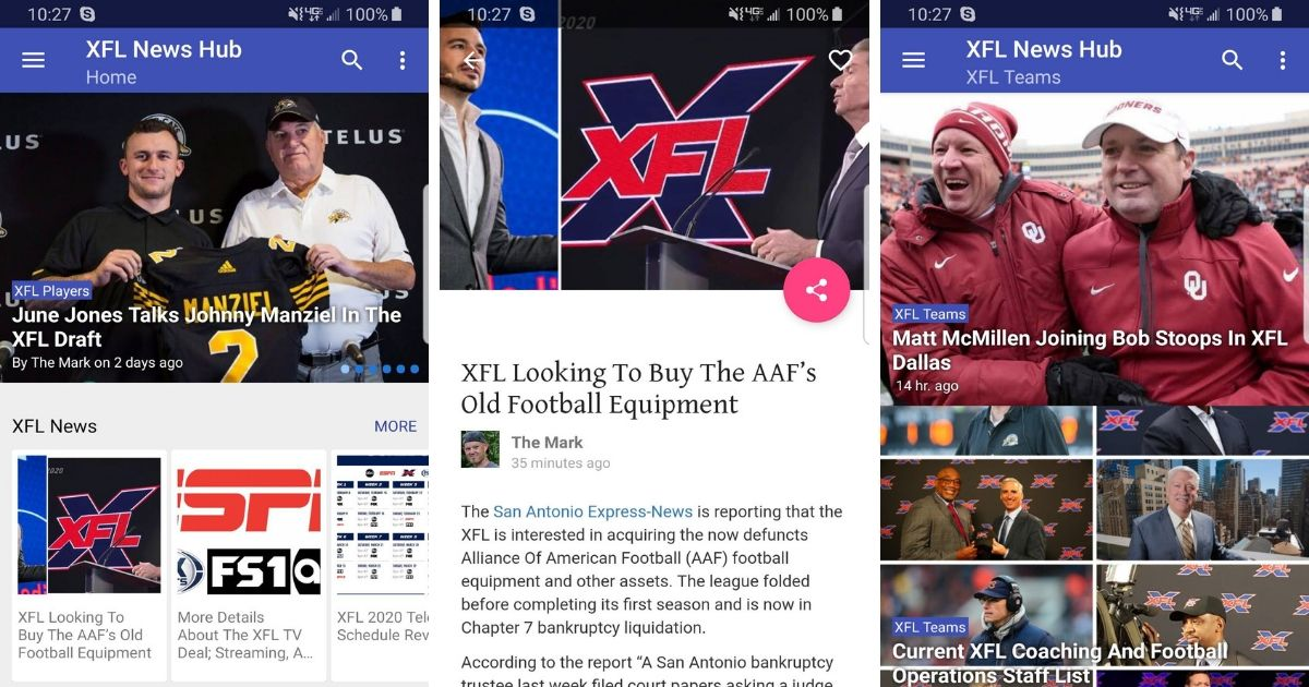 XFL App Android