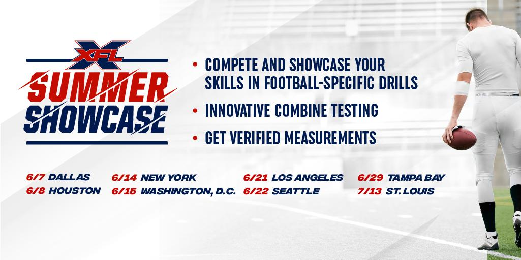 XFL Summer Showcase 2019