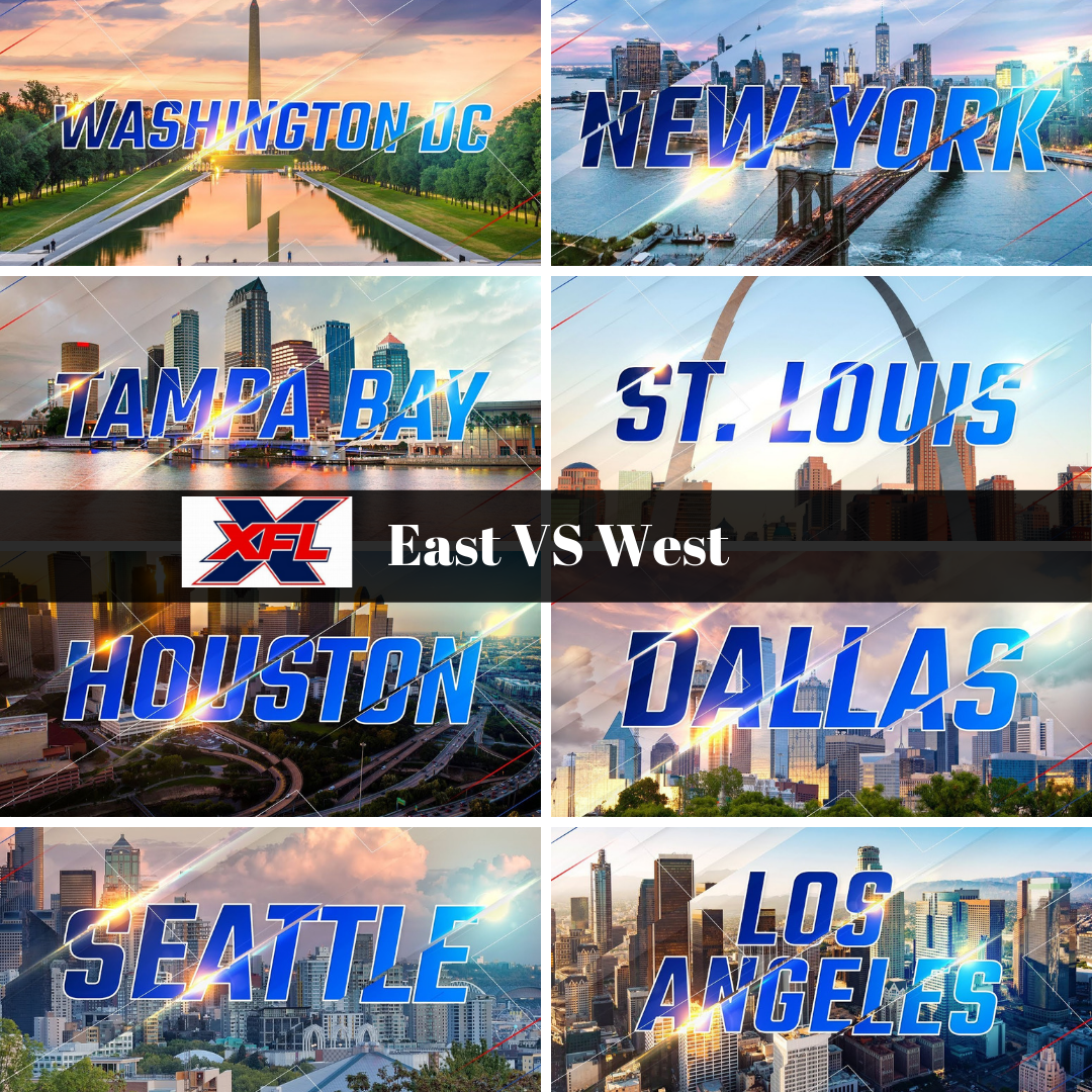 XFL East Vs West