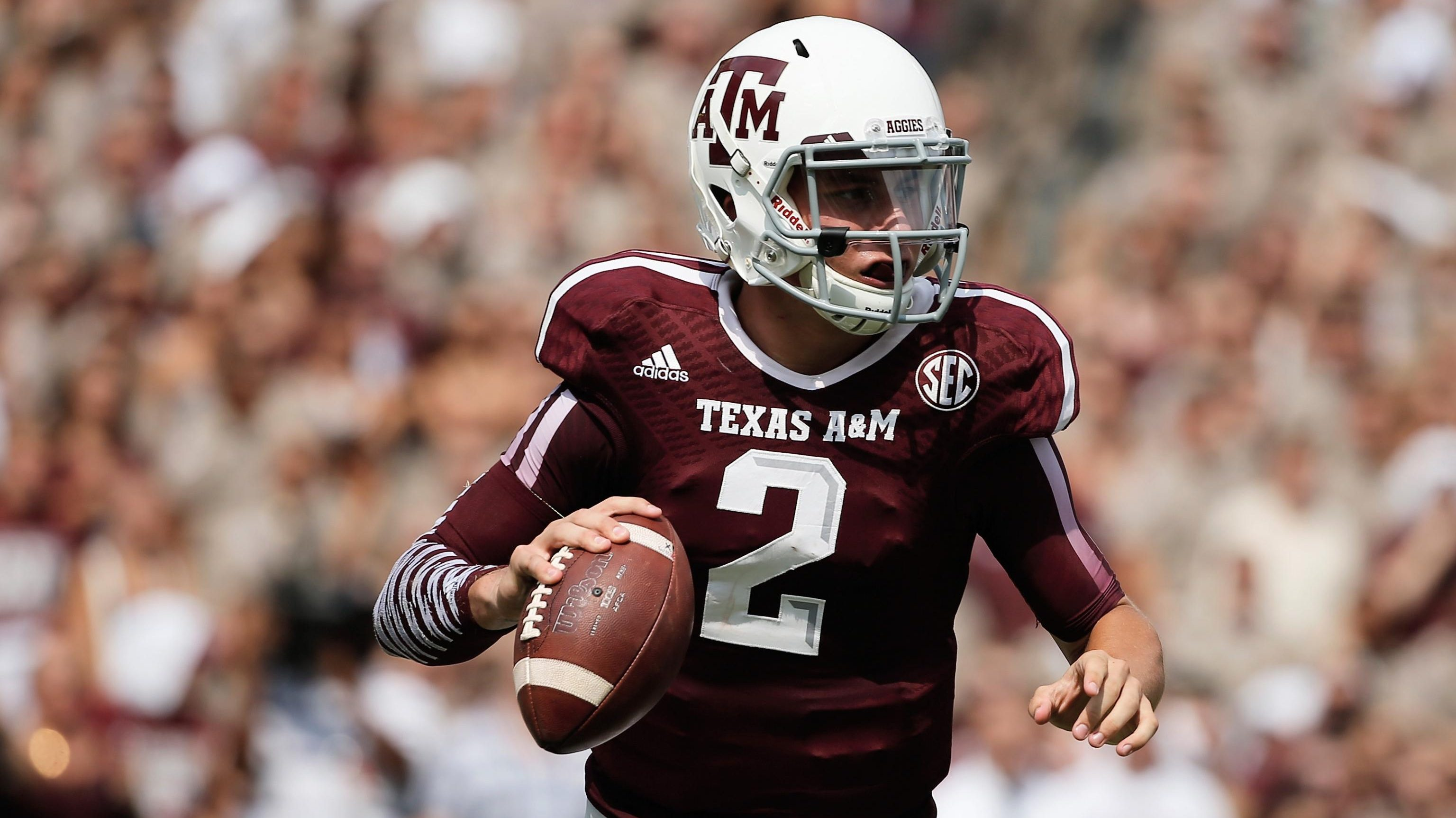 new arrival 51476 6f8e3 Johnny Manziel's College Uniform Stolen From Texas A&M